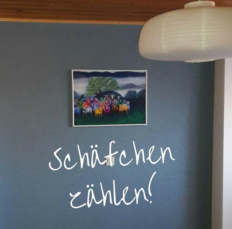 Auraschafe Kunstdruck Poster JacquiHirsch