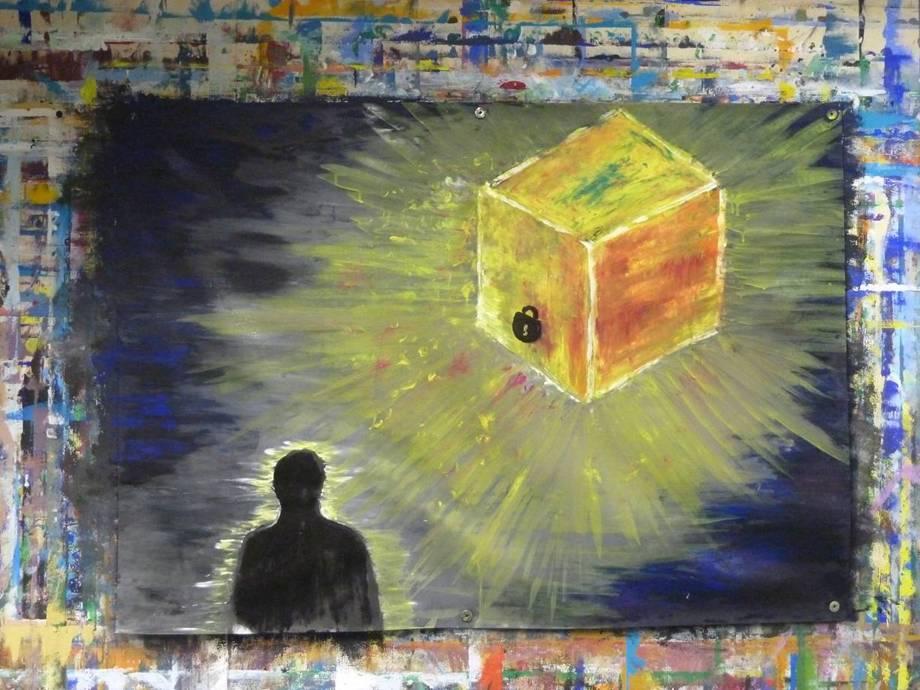 Begleitetes Malen als kreativer Trauerweg