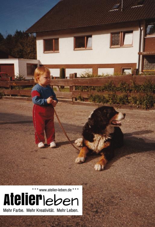 Hundeportraits aus dem Atelier Leben - Aus Liebe zum Hund