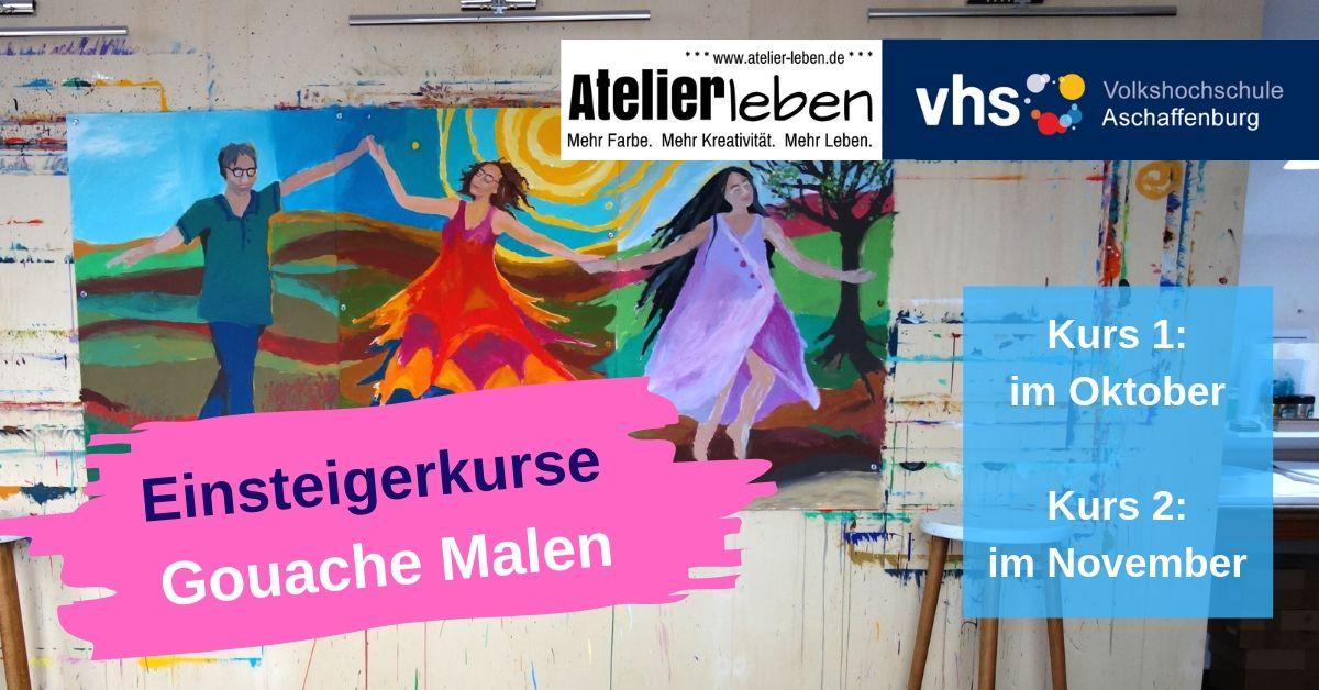 Malkurse_Gouache_Malen
