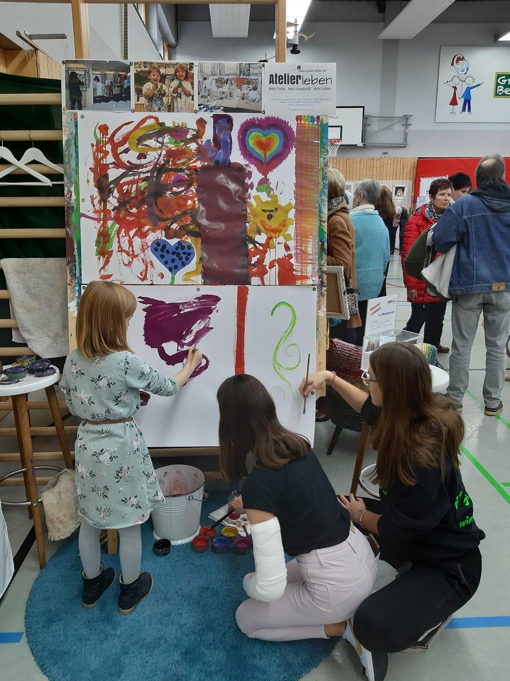 Hobbykunst-Ausstellung-Bessenbach-Jacqueline-Kuhn-2