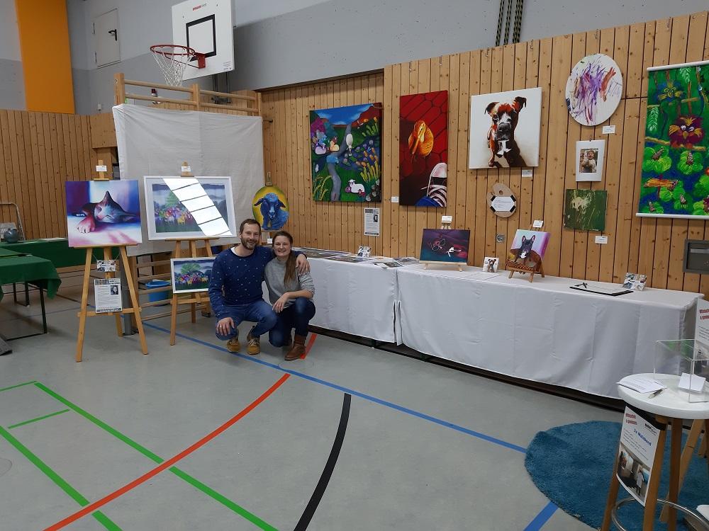 Hobbykunst-Ausstellung-Bessenbach-Jacqueline-Kuhn-3