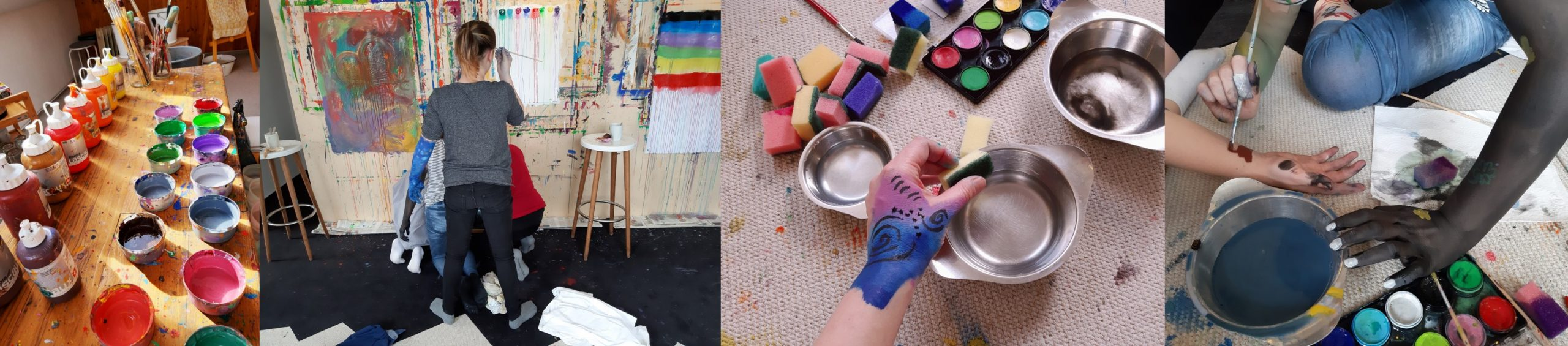 Kindergeburtstag feiern im Atelier Leben