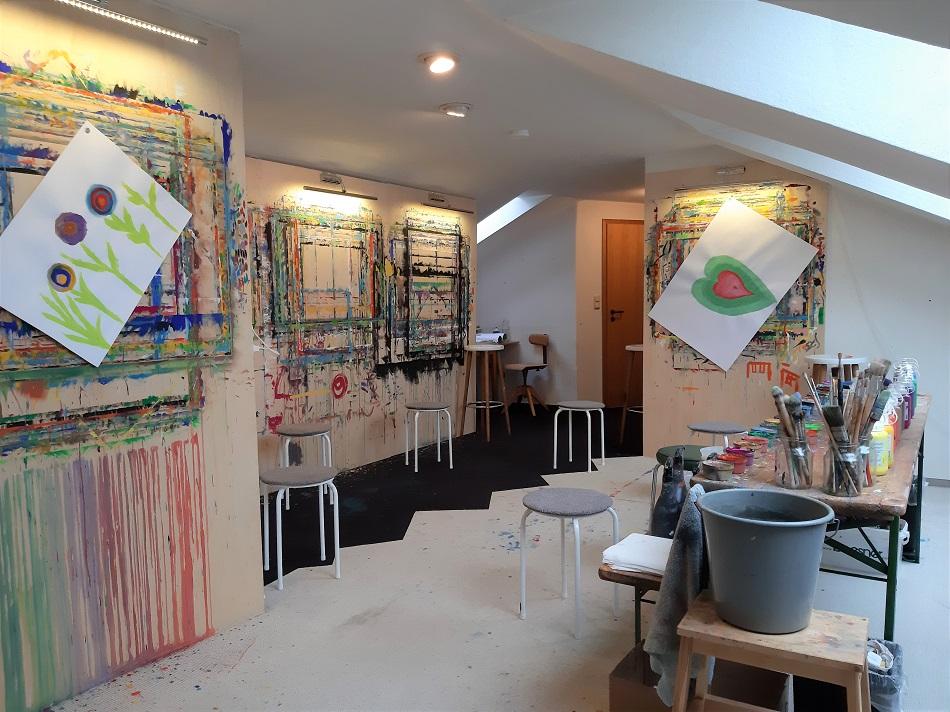 Atelier Leben - Malraum für Begleitetes Malen und Ausdrucksmalen